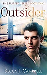 Outsider (Flawed #2): A Romantic Supernatural Suspense Story