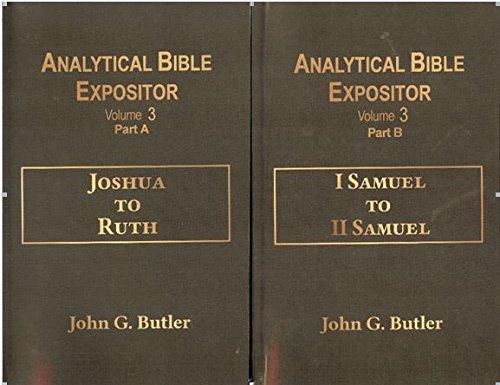 - Joshua to II Samuel (Analytical Bible Expositor Volume 3)