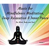 Vol:1. Music for Mindfulness Meditation, Relaxation and Inner Peace. 7 Tracks of slow-tempo ambient, music - some with oriental influences - ideal for Mindfulness Meditation, Chakra Balancing, Reiki, Aromatherapy, Sleep, Spa Therapies and much more.