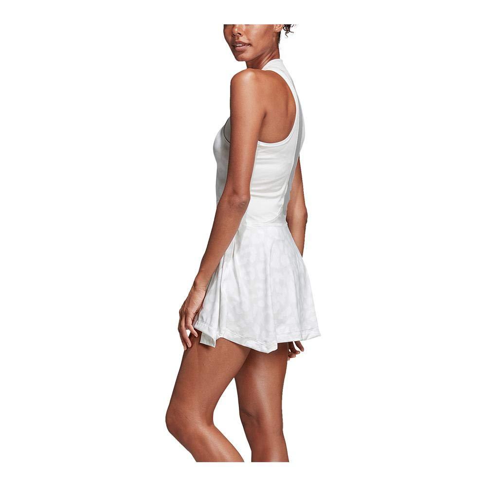 adidas by Stella McCartney Court Tennis Dress, White (Small)
