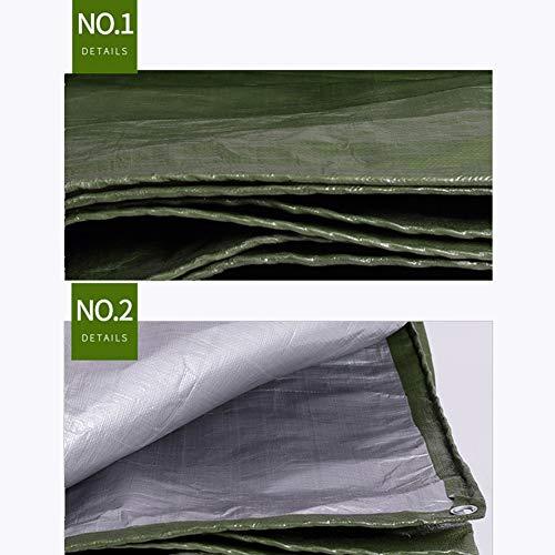 ぬいぐるみプロジェクター運搬JIANFEI オーニング 防水耐寒性日焼け止め防風防塵耐摩耗性ポリエチレン厚さ0.35mmカスタマイズ可能 (色 : Green, サイズ さいず : 1.9x3m)