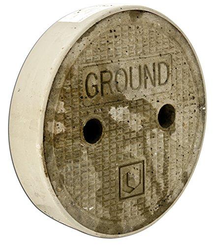 Oldcastle Precast 1008800 Lid, Reinforced Concrete, Diameter: 8-7/8