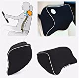 Facial Fillers Aftercare - Car Seat Headrest Memory Foam Cotton Neck Support Rest Cushion Travel Pillow by Abcstore99