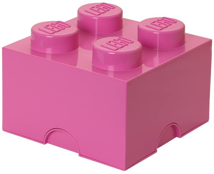 LEGO Storage Brick 4 Medium Pink