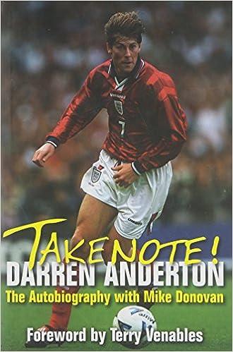 eda94c33bfa Darren Anderton  The Autobiography with Mike Donovan  Amazon.co.uk  Darren  Anderton