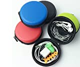 SAVYOU Smart Portable Earphone Bag handsfree headsets HARD EVA Case/Bag (ER-Red)