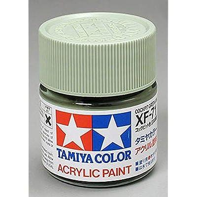 Tamiya America, Inc Acrylic XF71 Cockpit Green, TAM81371: Toys & Games