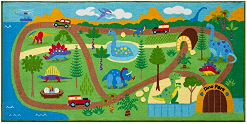 - Wildkin Dinosaur Land Play Rug, 4.7 Pounds
