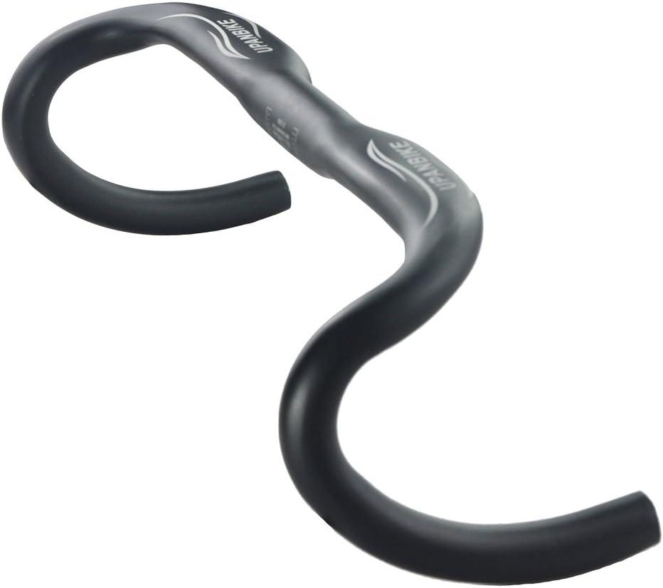UPANBIKE 31.8mm Drop Handlebar 420mm Bent Handlebar Aluminum Road Bike Handlebar for Road Bike,BMX Bike