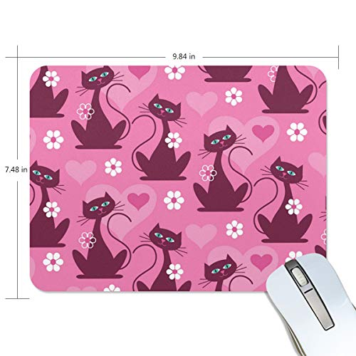 Cat Sign Gate Game Mouse Pad Customization, Mouse Pad Custom Rectangular Non-Slip Rubber Mouse Pad, Suitable for Computer Notebook