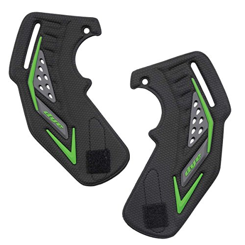 Dye i5 Paintball Mask Ear Piece Lime Pair by Dye