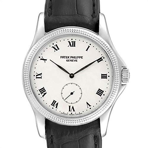 Patek Philippe Calatrava Mechanical-Hand-Wind Male Watch 5115G (Certified Pre-Owned)