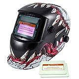 iMeshbean Adjustable Auto Darkening Solar Welding Helmet Arc/Stick /MIG/MAG/ Tig Grinding Many Different Styles USA (Cool Tiger Mouth)