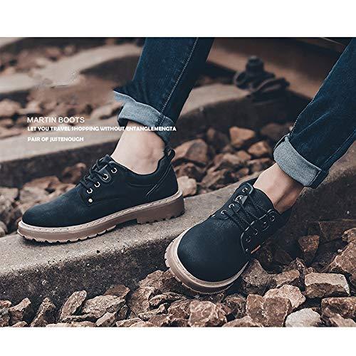 Adecuado Libre 40 Bajo La Retro 42 Artificial Hombres Primavera l Martin Aire Zapatos De negro Invierno Y top Casual Material Deportes Moda H Botas Al Pu Para Los El xq1ZpwxH