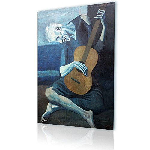 old guitarist canvas - 8