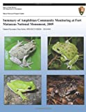 Summary of Amphibian Community Monitoring at Fort Matanzas National Monument 2009, Michael Byrne, 1491069104