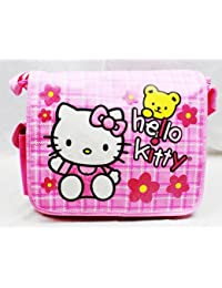 Hello Kitty Messenger Bag - Flowers