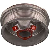 """National Hardware V7622 For maximum 1/8"""" Cable Left Hand Torsion Cable Drums in Aluminum"""