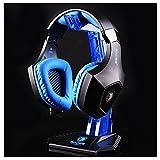 eSports Headphone Cradle Headphone Stand Headset Hanger Holder for Sony/Shure/Sennheiser/Monster Beats/Logitech DJAKG/Ultimate Ears/Boss Headphones (Blue) For Sale