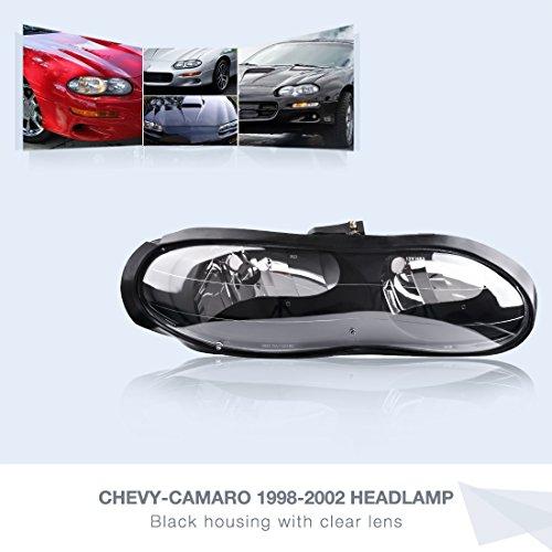 02 camaro black headlights - 8