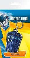 Doctor Who Tardis Illustration Keyring