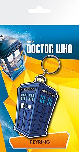 GB Eye LTD, Doctor Who, Tardis Illustration, Llavero