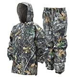 Frogg Toggs Frogg Toggs Polly Woggs Waterproof Breathable Rain Suit, Youth, Realtree Edge, Size Medium Polly Woggs Waterproof Breathable Rain Suit, Realtree Edge, Medium