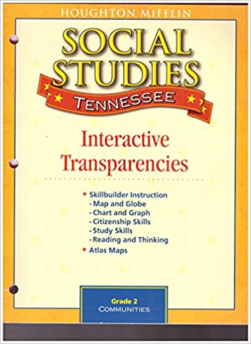 SOCIAL STUDIES TENNESSEE COMMUNITIES GRADE 2 HOUGHTON