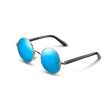 46d74382a9 GAOYANG Gafas De Sol Polarizadas Marco Redondo Masculino Príncipe Espejo  Vintage Gafas De Sol Mujer Influx