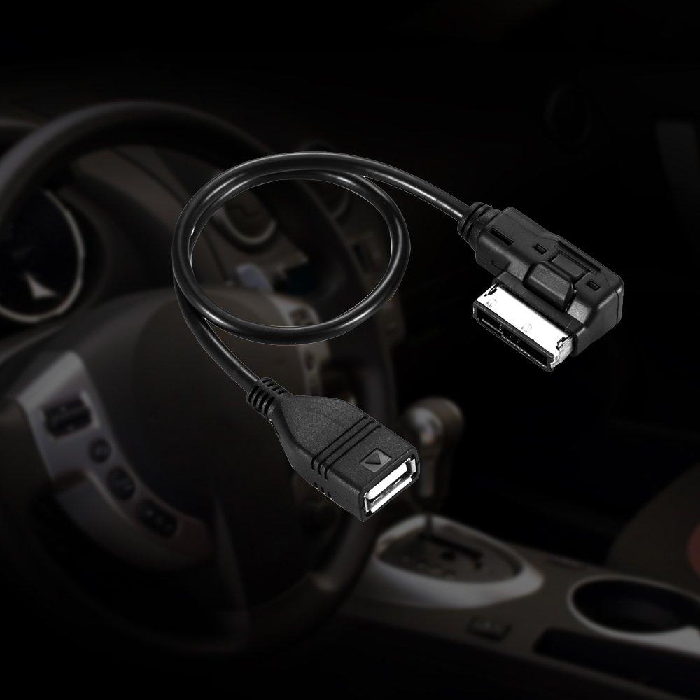 ONEVER AMI MMI MDI-USB-Buchse Audio-Kabel Daten-Synchronisierungs-Ladeadapter f/ür Audi A3 A4L A5 A6L A8 Q3 Q5 Q7
