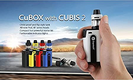 KIT de CUBOX JOYETECH Sin nicotina O tabaco* - Noir: Amazon.es: Salud y cuidado personal