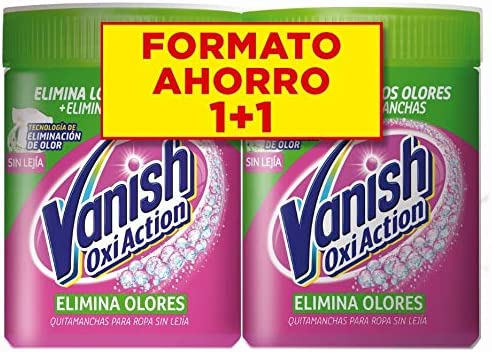 Vanish Oxi Action Elimina Olores para Ropa Polvo, formula sin ...