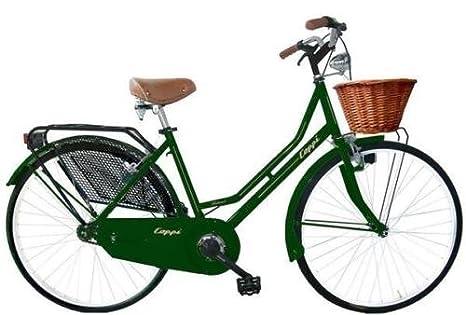 Bici City Bike Coppi Olanda 26 Da Donna Con Cestino In Vimini