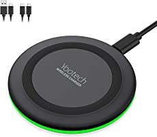 Yootech Wireless Charger,Qi-Certified 10W Max Fast Wireless Charging Pad Compatible with iPhone 11/11 Pro/11 Pro Max/XS...