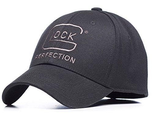 Glock Perfection Premium Logo Cap Polyester Black (Hat Glock)