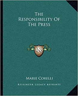 Book The Responsibility of the Press