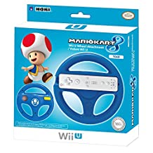HORI Mario Kart 8 Racing Wheel (Toad) for Nintendo Wii U and Wii