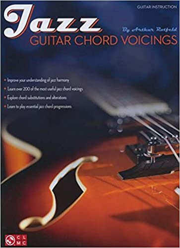 Amazon.com: Jazz Guitar Chord Voicings (Softcover Book ...
