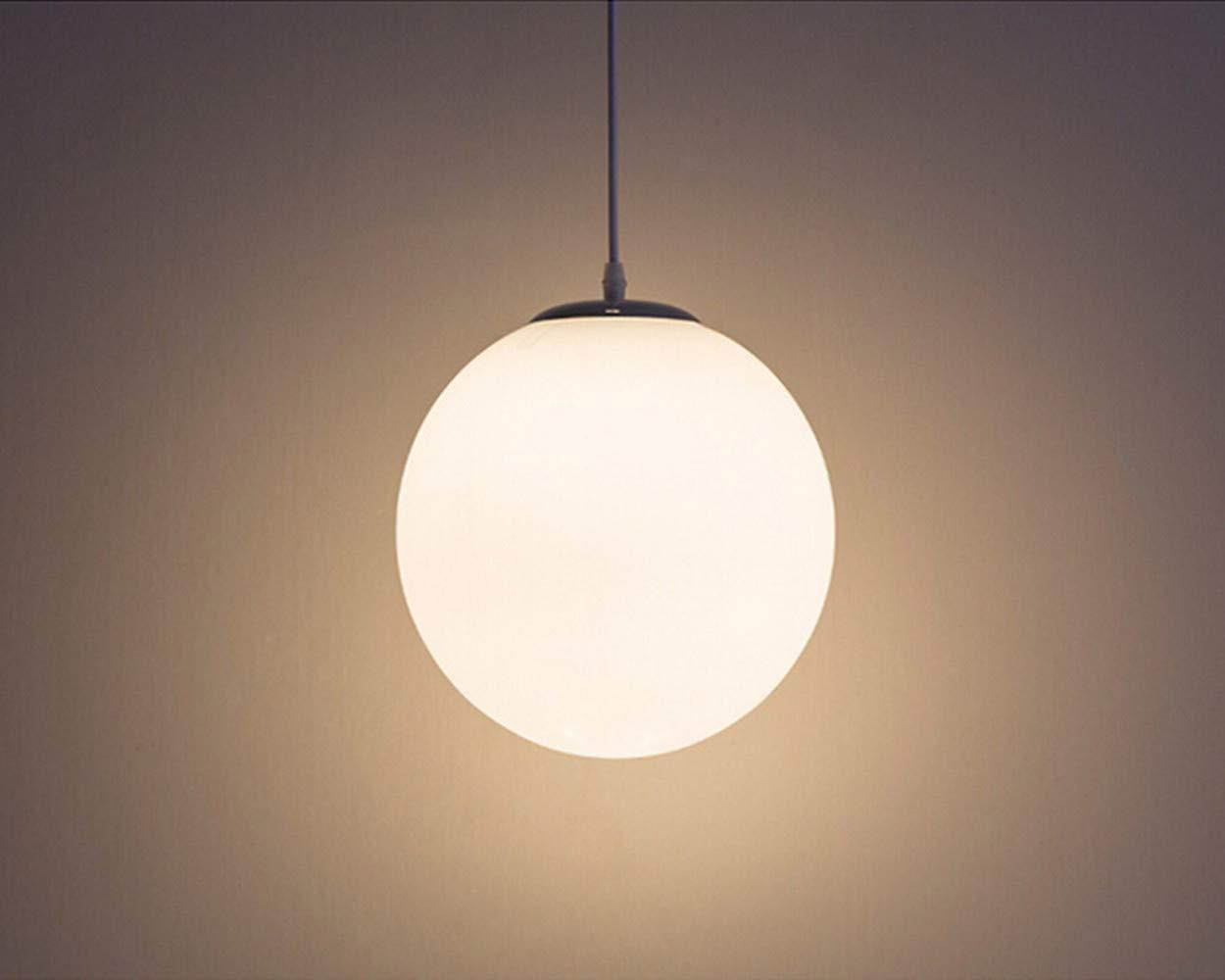 Aua lampadario con sfera di vetro lampada a sospensione lampada