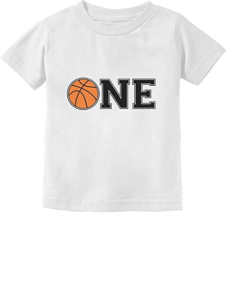 1st Birthday Gift For One Year Old Infant Basketball Kids T Shirt 6M California