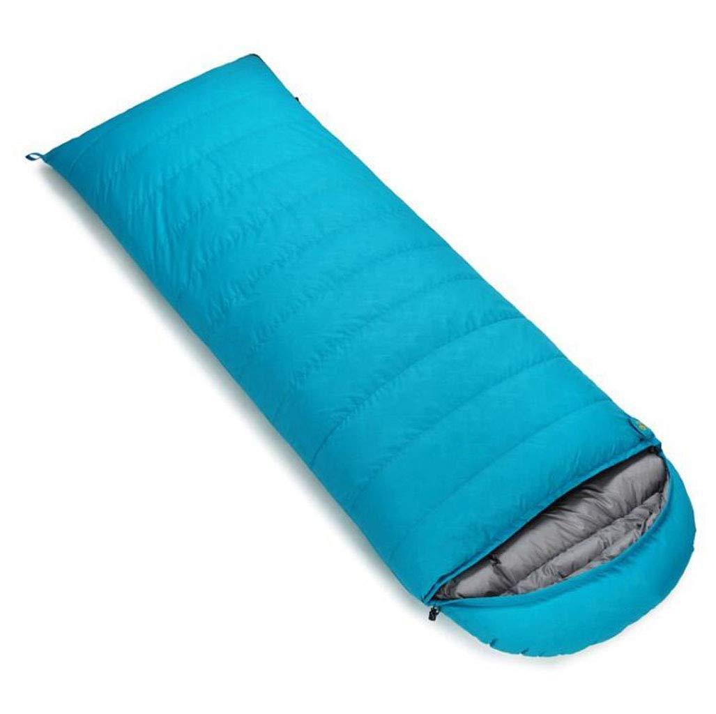 vert 1.8KG DAFREW Sac de Couchage d'enveloppe, Sac de Couchage extérieur Quatre Saisons avec Sac de Compression (Couleur   rouge, Taille   0.4KG)