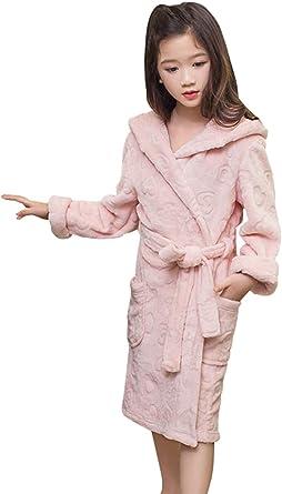 HAHABABY Albornoz Adecuada para Niñas Niños Pijamas Sudaderas Algodón 100% Manga Larga Albornoz Microfibra Albornoces De Baño Toalla Playa Disponible en Varias Tallas Batas: Amazon.es: Ropa y accesorios