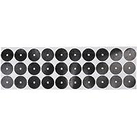 MagiDeal Set 30pcs 3cm Rond Points Noirs Autocollants Billard Spot Marquage - Auto-adhésif