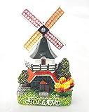 Souvenir Fridge Magnet Dutch Netherlands Holland windmill 3D magnet colorful