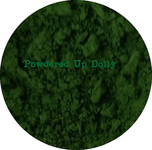 50 Gram Grams 1.76 Ounces GREEN MATTE CHROMIUM HYDROXIDE DIOXIDE Art Craft Paint Powder Pigment Color by Powdered Up Dolly