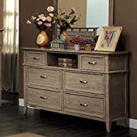 247SHOPATHOME Idf-7351D, dresser, Oak