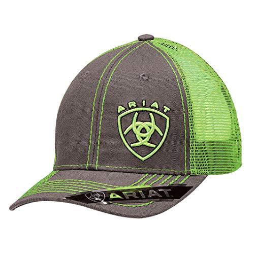 Ariat Men's Clean Neon Corner Logo, Lime Green, One Size