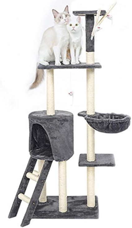Plataforma De Salto para Gatos Grandes De Cinco Pisos ...