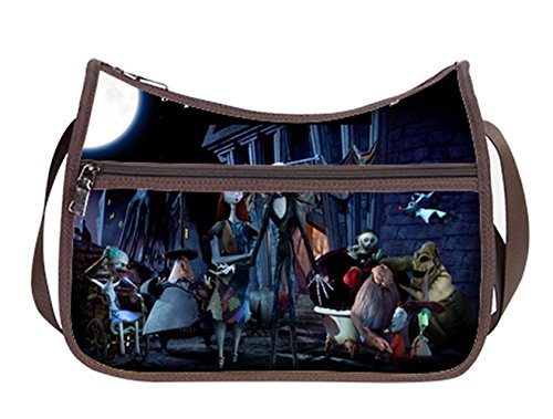 Classic Everyday Hobo (Simple Classic Everyday Hobo Handbag Female Women Shoulder-to-Crossbody Hobo Bag Jack and Sally Pattern)
