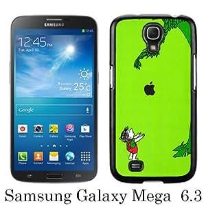 Giving Tree Black Fashion Design Customized Picture Samsung Galaxy Mega 6.3 Case